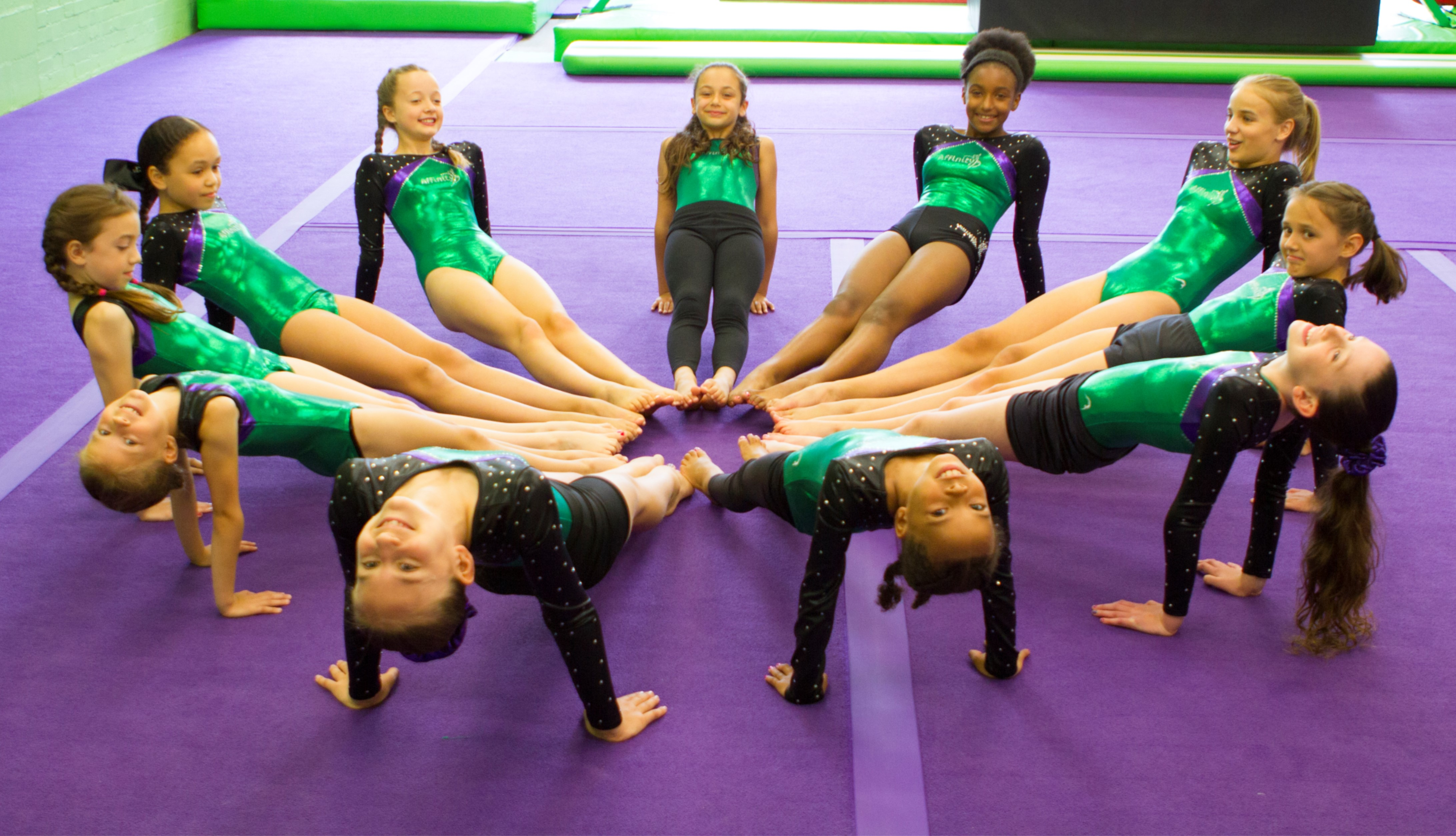 Gymnastic Classes All Ages Hertfordshire
